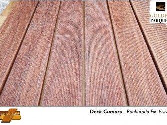 Deck Cumaru - Ranhurado