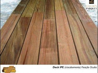 Deck IPE (sem acabamento)