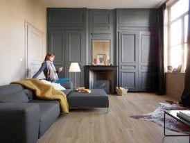 River Oak Greige - livingroom horizontal